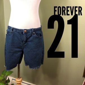 Size 31 denim Forever 21 shorts.